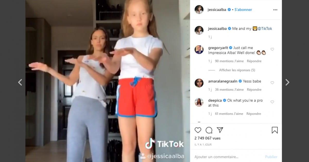 [INSOLITE] L'actrice américaine Jessica Alba danse sur Beethoven et fait 2.7 M de vues sur Tik Tok - Radio Classique
