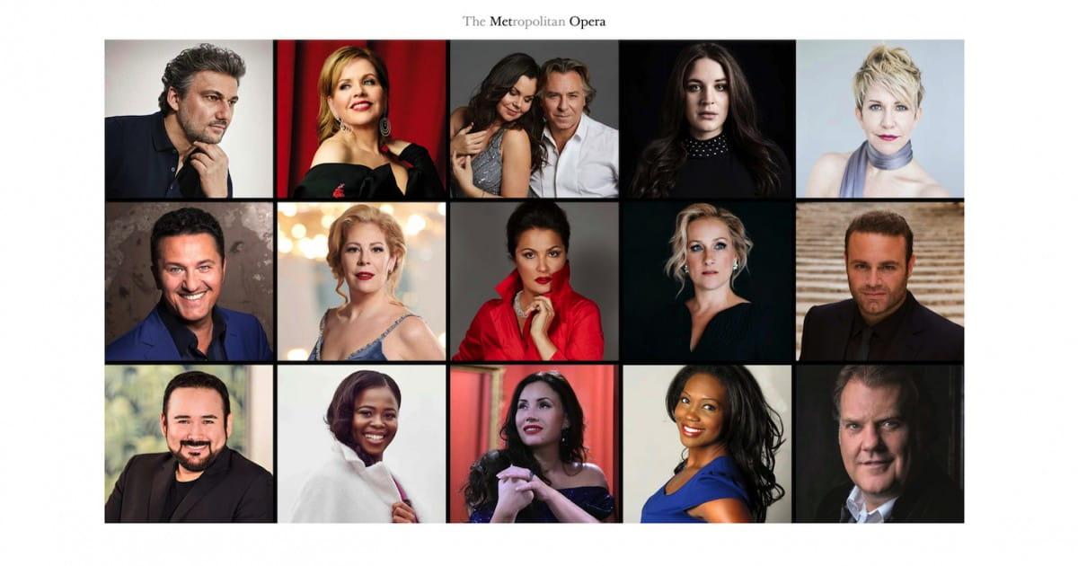 D'Anna Netrebko à Roberto Alagna, 16 stars chantent à distance pour le Met Opera de New York - Radio Classique