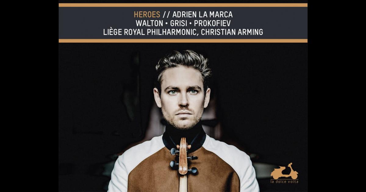 Heroes : Adrien La Marca présente un nouvel album aux accents épiques !