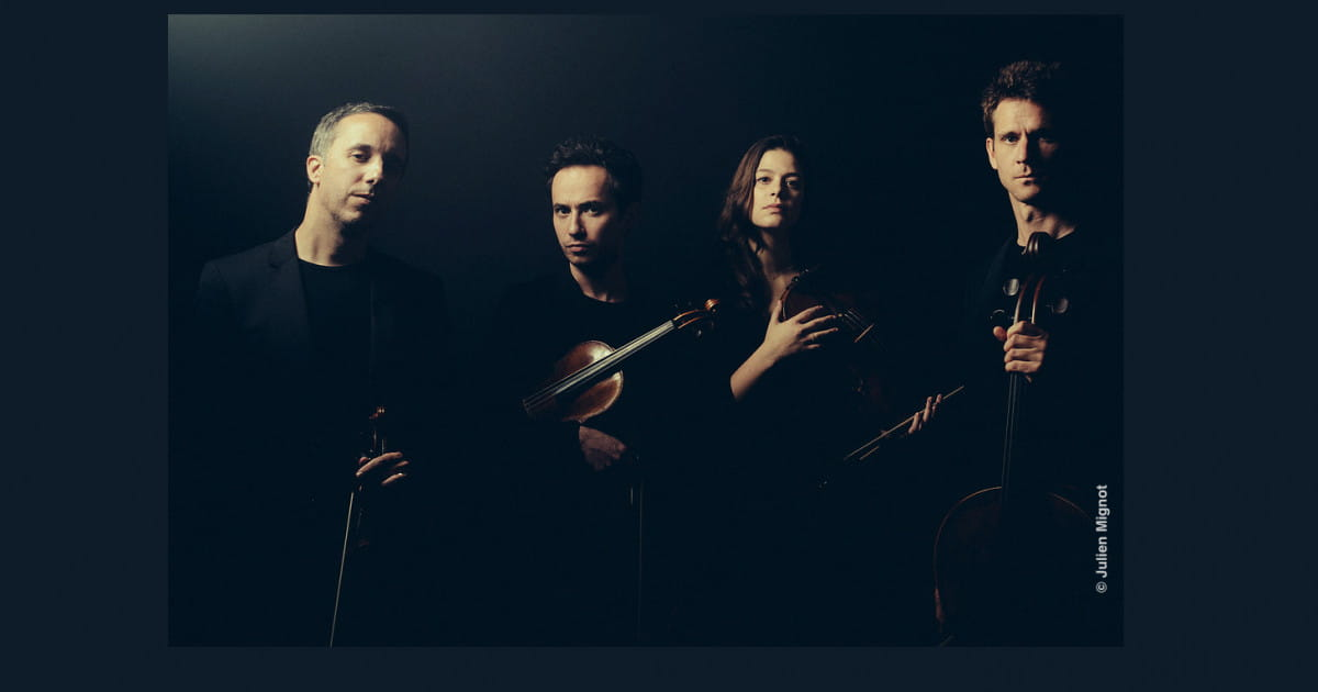 Le Quatuor Ébène crée une classe de quatuor à cordes au sein du prestigieux conservatoire HMTM de Munich