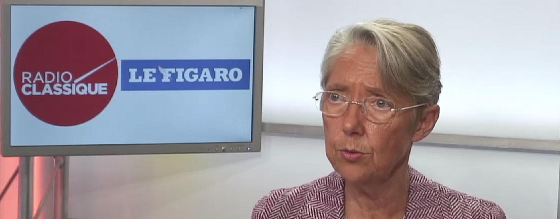 Elisabeth Borne répond à l'accusation de Yannick Jadot