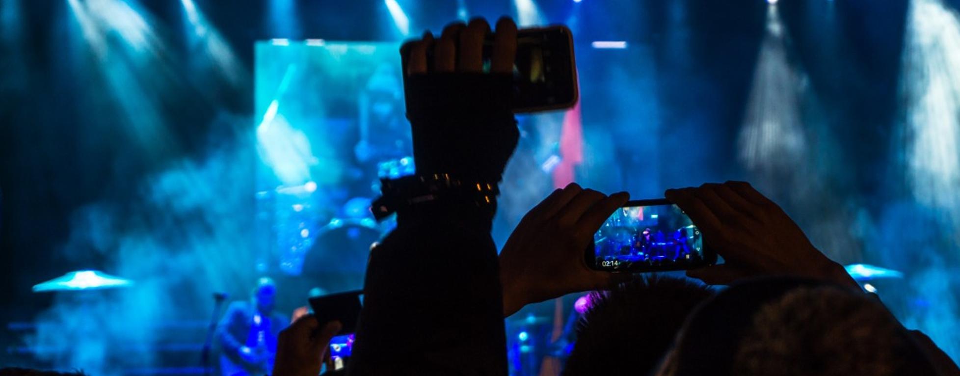 Des concerts sans ou avec portables ?