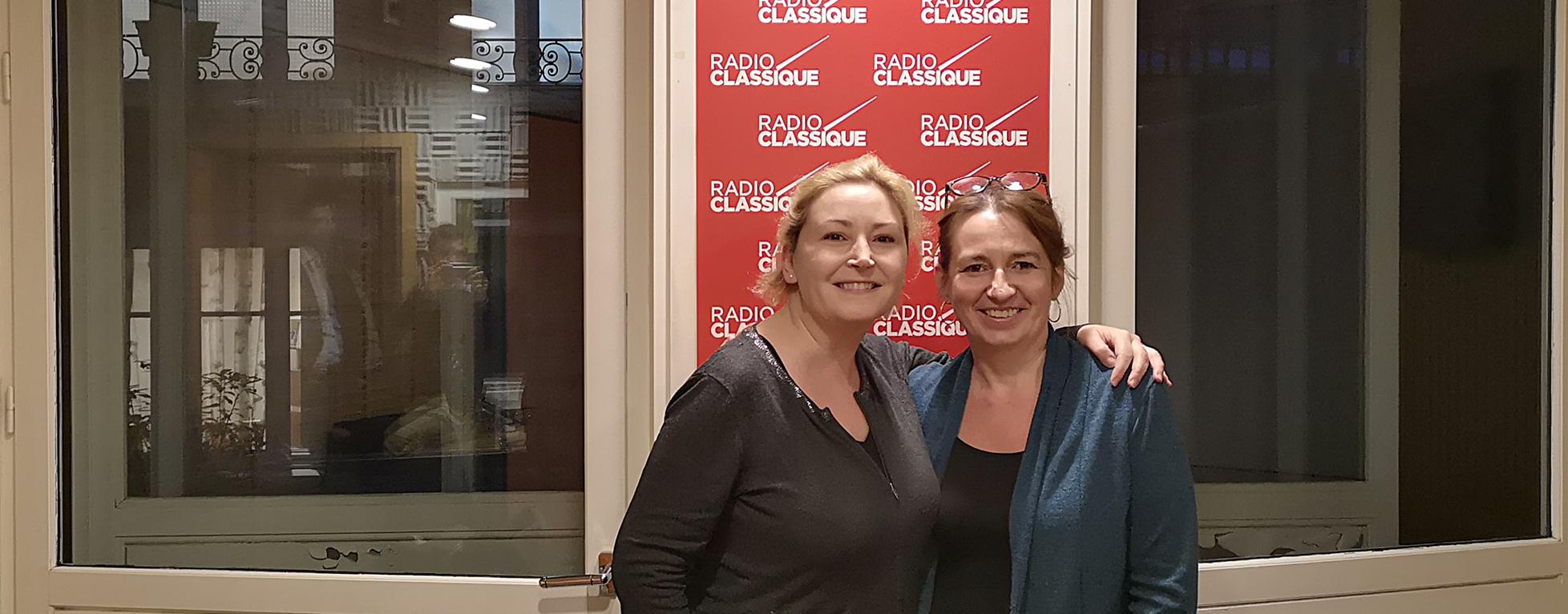 Laure Mézan reçoit la mezzo-soprano Karine Deshayes