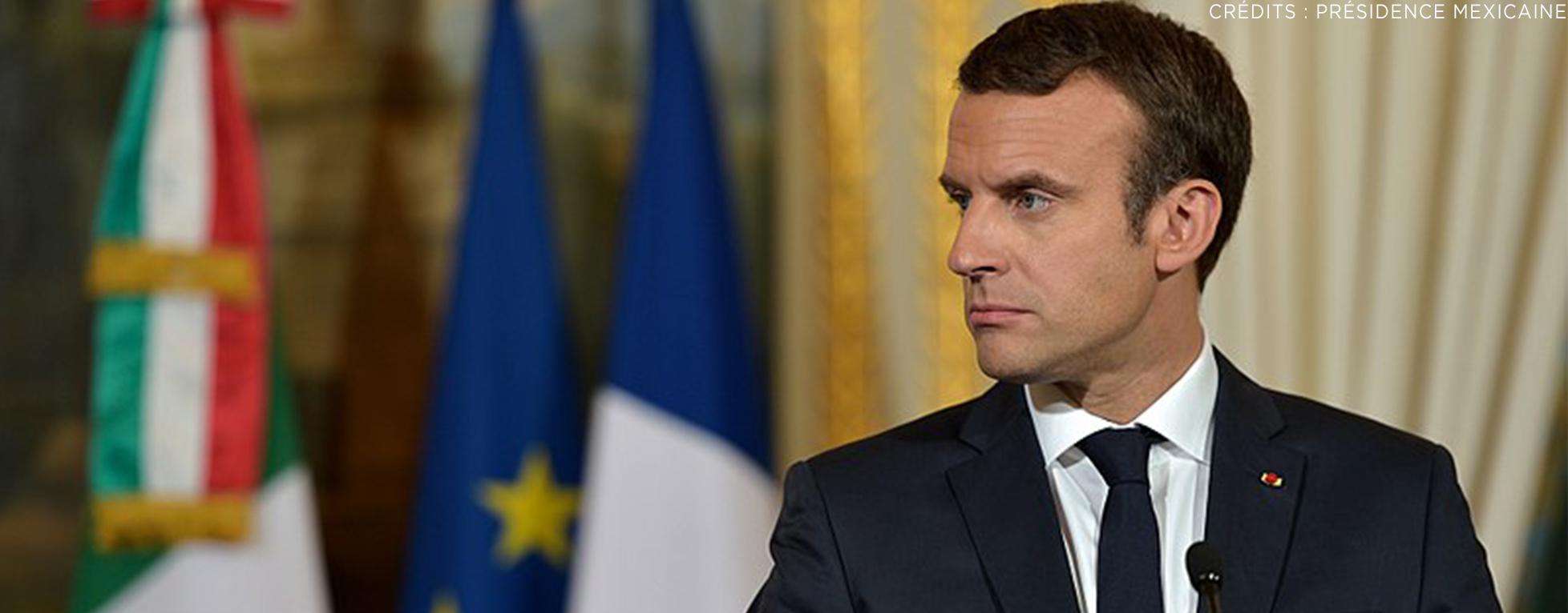 La popularité d'Emmanuel Macron en légère hausse