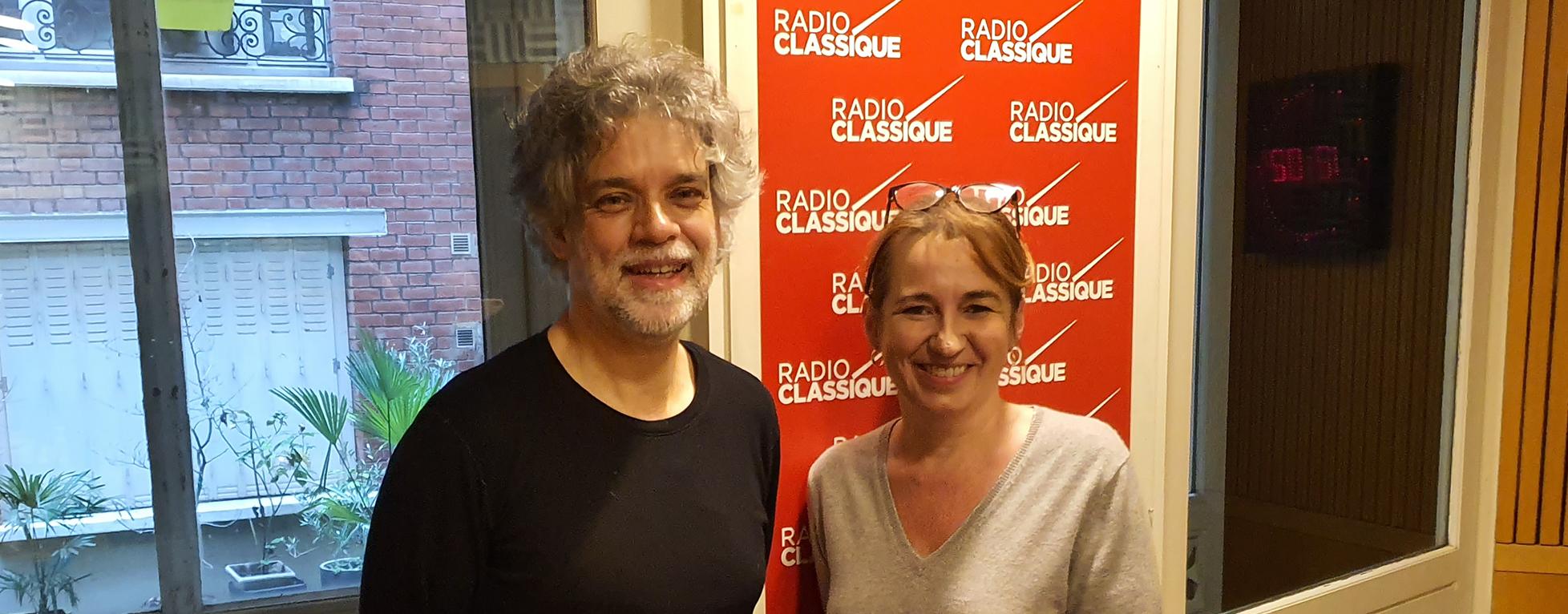 Laure Mézan reçoit le pianiste François-Frédéric Guy
