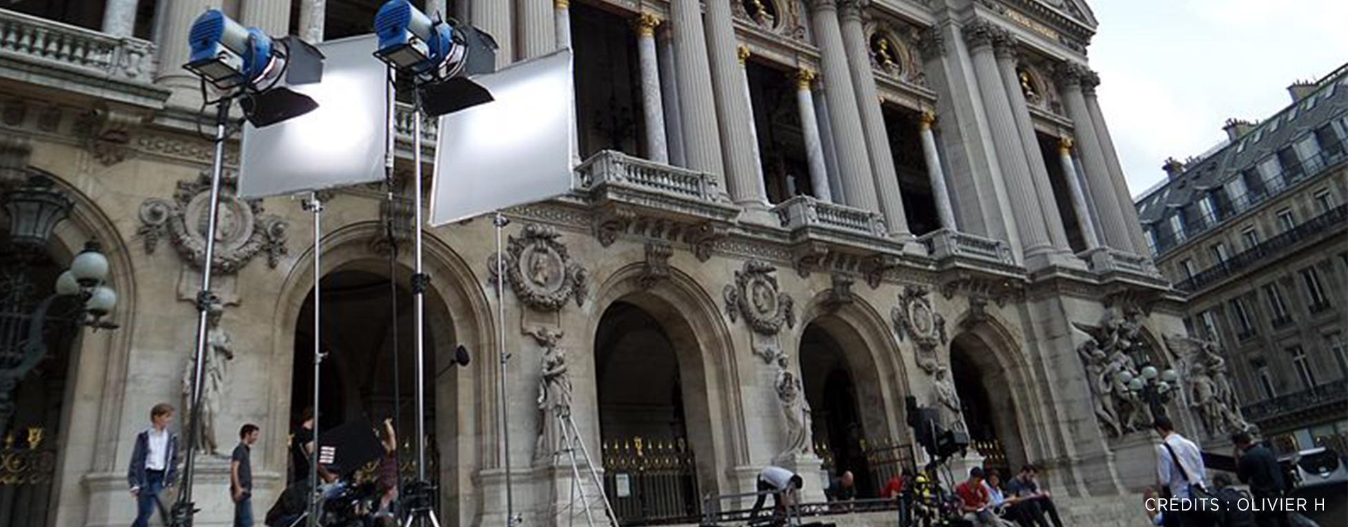 Forte hausse des tournages à Paris