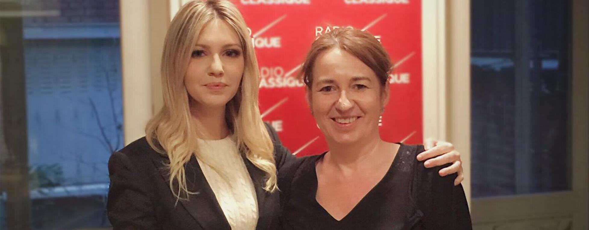 Laure Mézan reçoit la pianiste Vanessa Benelli Mosell