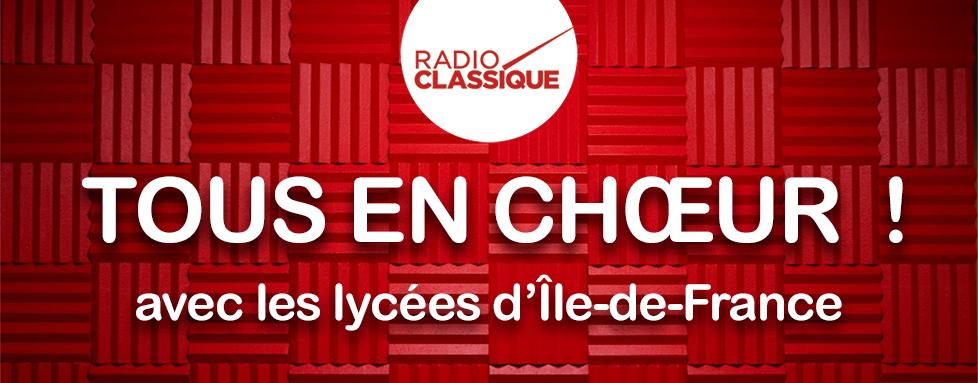 Tous en Choeur ! Le grand concert des chorales lycéennes d'Île-de-France